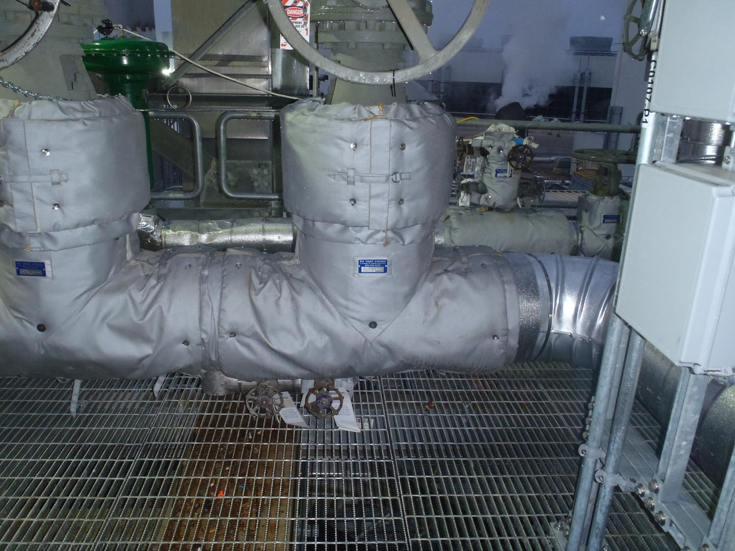 Valve Insulation Covers Fit Tight Covers