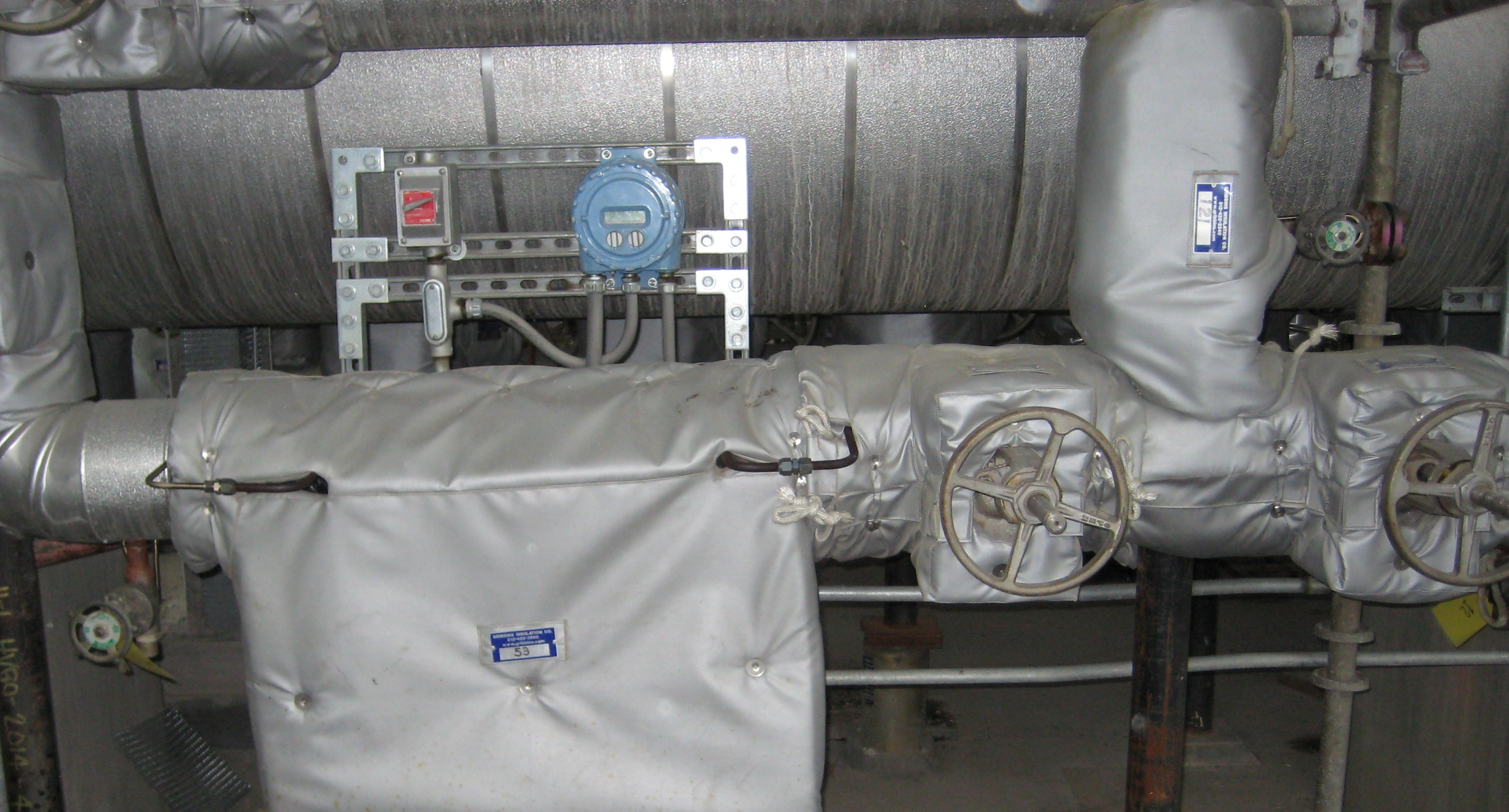 Flow Meter Insulation Covers Fit Tight Covers