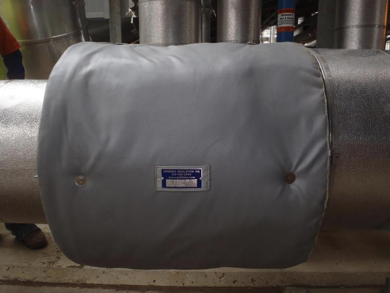 Fit Tight Flange Insulation Covers