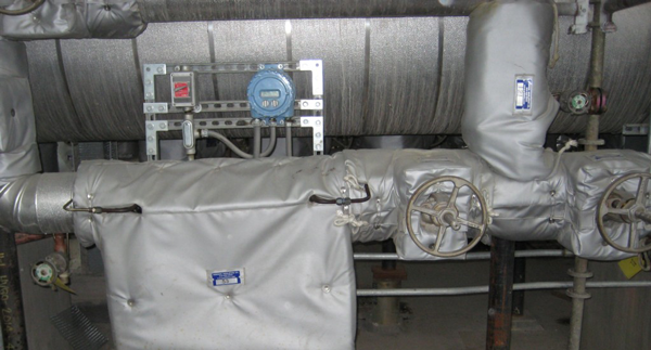 flow meter insulation cover