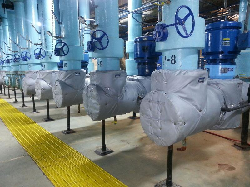 pump insulation covers