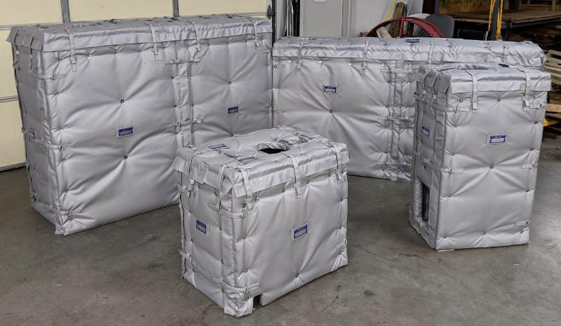 Sound Attenuation Insulation Covers