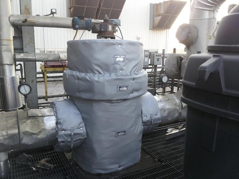 strainer insulation cover